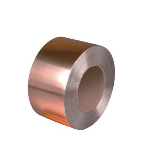 Red Flat and Thin Copper Strip