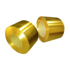 C2600 Brass Edging Strip Coil