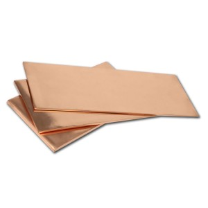 high conductivity 4*8 copper sheet supplier price