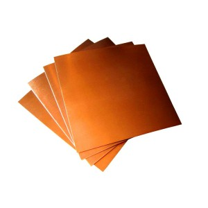 99.9% Purity High Conductivity Copper Sheet Price
