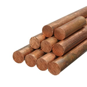 c10100 Copper rod 8mm copper bar price copper round bar