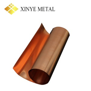 C18665 Copper Bronze Strip for Frame Materials