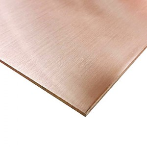 2mm thick polished copper sheet for sale