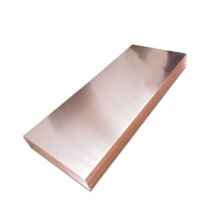 high conductivity 4*8 copper sheet supplier price