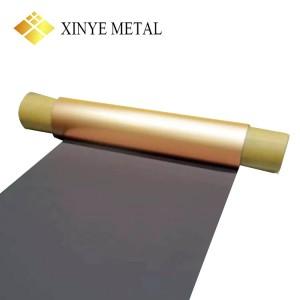 12 um Black Copper Foil for Flexible Printed Circuit Board