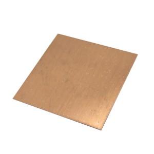 C1100 99.9% pure copper sheet